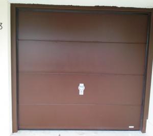 Porte De Garage Sectionnelle Acier